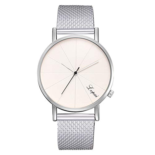 Uhr Damen LSAltd Damen Mode Silikon Uhr Casual Quartz Band Armwatch Damen Armbanduhr Analoge Armbanduhr 2019