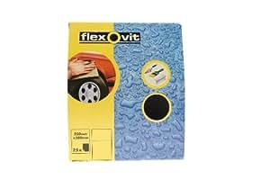 Flexovit Wet and Dry Paper 800 Grit (25 Sheets)