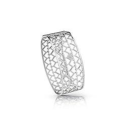 Reed Bracelet Guess Ubb85067-s Woman Steel Heart