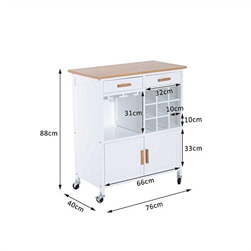 Homcom-Mobiletto-da-Cucina-con-Ruote-Portabottiglie-e-Porta-bicchieri-in-Bamb-76-x-40-x-88cm