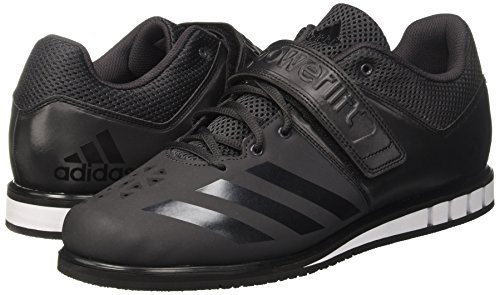 Adidas Men's Powerlift 3.1 Trainers Weightlifting Indoor Court Shoes, Multicolor (Utility Black F16/Core Black/Ftwr White), 12 UK