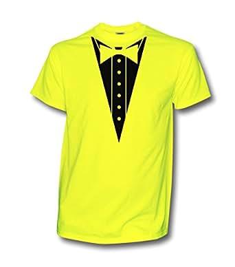 KNOW-MORE-STYLEZ Neon T-Shirt JGA JGA Suit Bräutigam Junggesellenabschied Hochzeit Party Anzug (s, Neongelb)