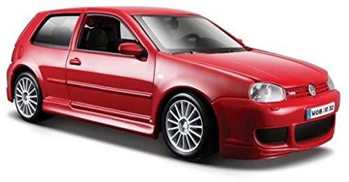Maisto 31290 - Coche de juguete (escala 1:24), diseño de VW Golf R32, color rojo