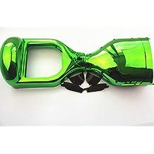 "Para 6,5""dos ruedas Auto Equilibrio Scooter Smart Hover juntas carcasa DIY tapa de carcasa exterior cromado, verde"