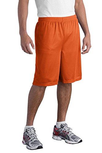 Sport-Tek -  Pantaloncini sportivi  - Uomo Deep Orange