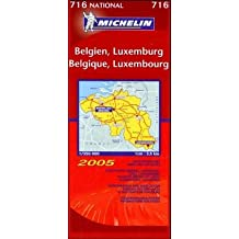 Michelin Karten, Bl.716 : Belgien, Luxemburg; Belgium, Luxembourg; Belgique, Luxembourg