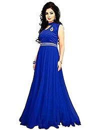 19 Likes Women's Dress Material(MUMRYGOS003BL_Blue_Blue)