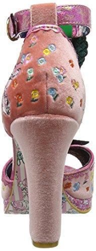 Irregular Choice Damen May Meadow Sandalen Pink (Pink)