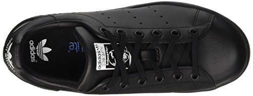 Adidas - Stan Smith Junior M20605 - Baskets mode Enfant / Fille Noir/bleu/blanc
