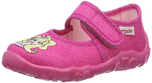 Superfit Bonny, chaussons d'intérieur fille Rose