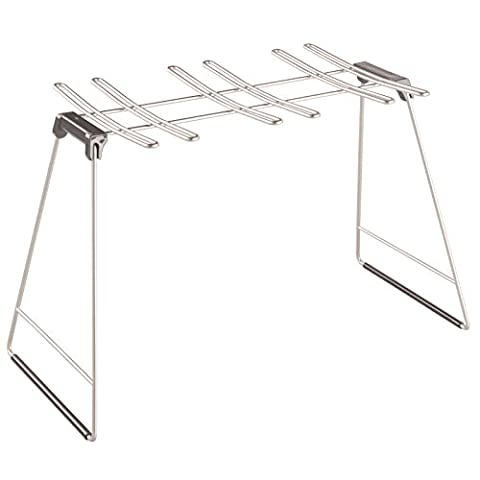 InterDesign Classico Wine Glass Drying Rack,