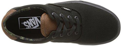 Vans U Era 59 Unisex-Erwachsene Sneaker Schwarz (Noir (C L Black/Bla))