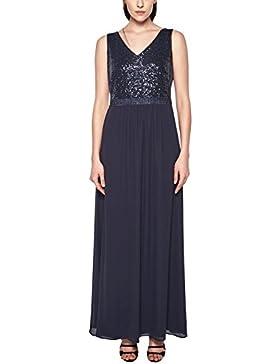 s.Oliver BLACK LABEL Damen Glamouröses Abendkleid mit Pailletten