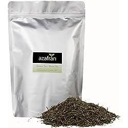 Grüner Tee - Japanischer BIO Sencha Uchiyama Grüntee - Original aus Japan (500g) von Azafran® - ca. 200 Tassen