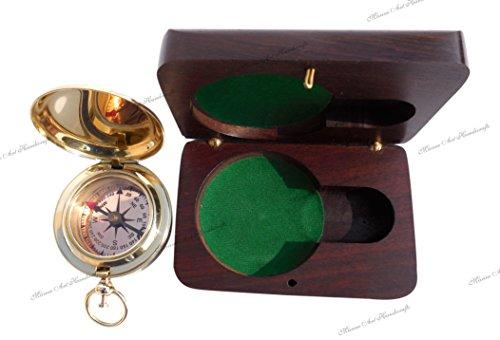 perfekt für die maritime Dekoration Kompaß in Taschenuhrformat