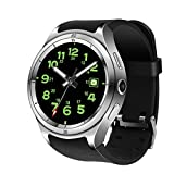 LLLS Smartwatch, Smart Watches for Men for Women,IP67 Waterproof IPS Full Touch Screen Heart Rate Monitor Support 3G Internet Access GPS