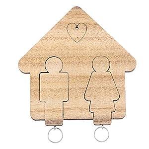 VORCOOL - Llavero de parejas