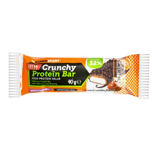 Named Sport Crunchy protein bar 40g caramel vanilla - 41HCO7ryrsL