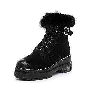 BYUYAN Stiefel Die Winter Schnee Schuhe Frauen Schuhe Wilde Studenten Plus Baumwolle Warme Dicke Baumwolle Schuhe Kurze Lauf