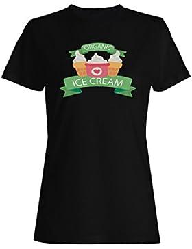 Nuevo Helado De Leche Ecológica camiseta de las mujeres l273f