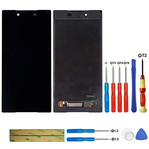 Swark Écran LCD Compatible avec Sony Xperia Z5 Premium E6853 E6883 E6833 Noir (sans Cadre) Écran Tactile Digitizer Montage en V