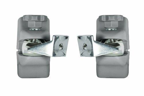 B-Tech BT332 Home Cinema Speaker Wall Mounts (Pair) in Silver