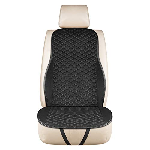 HEIFEN Car Heating Cushions Home Winter Warm Car Mat 12 V Universal Car Seat Cushion heating Antiskid Diamond Appearance Wear