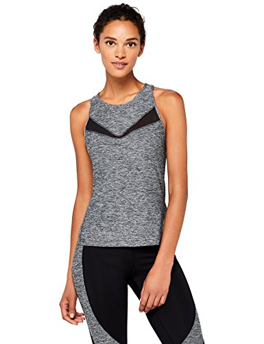 AURIQUE Camiseta Deportiva de Tirantes Mujer