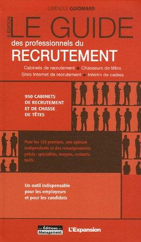 Le Guide des professionnels du recrutement