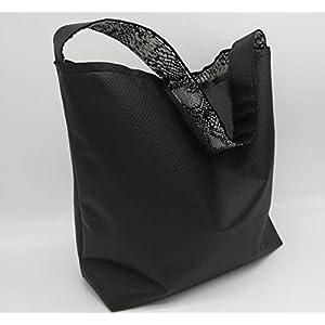 Black Snake Tote Bag, Geschenk für sie, Handtasche, Seil Strandtasche, portugiesische Marke, Womans Bag, Pool Bag, Einkaufstasche, Strandtasche