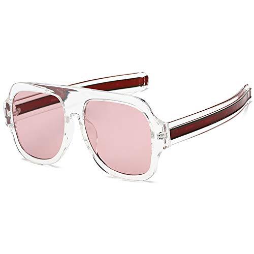 SHEEN KELLY Premium super oversized sonnenbrille frauen männer flat top quadratischen rahmen luxus - sonnenbrille