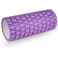 HiHiLL Rodillo de Espuma,para masajes musculares,de Tejido Profundo y liberación miofascial,para rehabilitación,Gimnasio,Crossfit,Yoga y Pilates