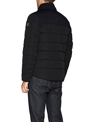 TOM TAILOR Herren Jacke Padded Jacket Blau (Knitted Navy 6800)