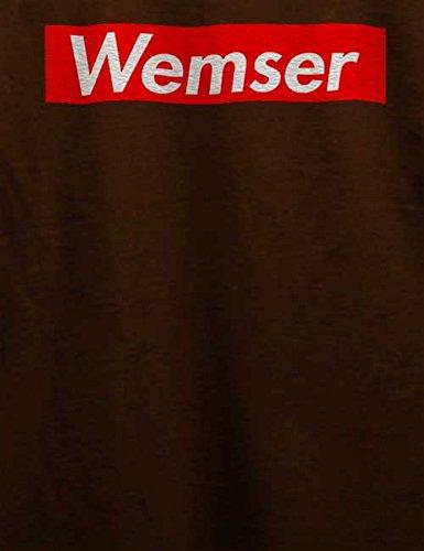 Wemser T-Shirt Braun