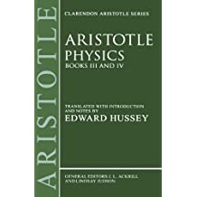 Physics: Books III and IV (Clarendon Aristotle Series) (Bks. 3 & 4)