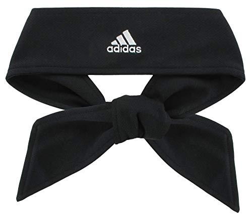 adidas Tennis Tie II Haarband, Unisex Herren, 5136701, schwarz/weiß, - Herren Adidas Stirnband Tennis