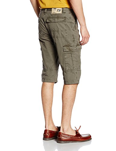 Pioneer Herren Shorts 1387 3458 Grün (kaki 60)