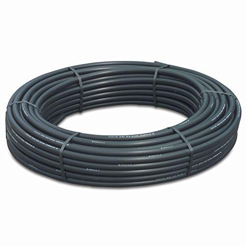 PE 100 Tube de pression sdr11 Rouleau : 100 m couleur : noir/bleu