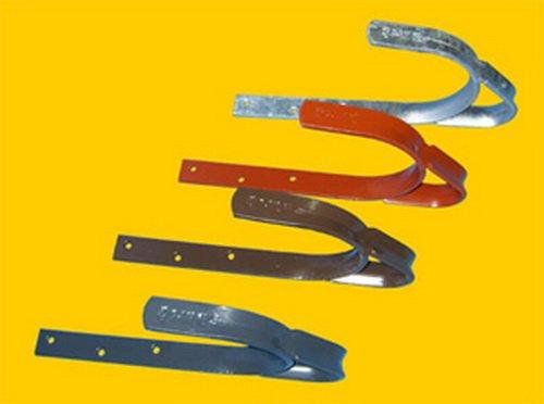 Dachhaken aus Stahl für Schieferabdeckung (2 Stück) (verzinkt)