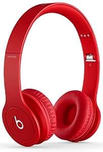 Beats by Dr. Dre Solo HD On-Ear Headphones - Monochromatic Red