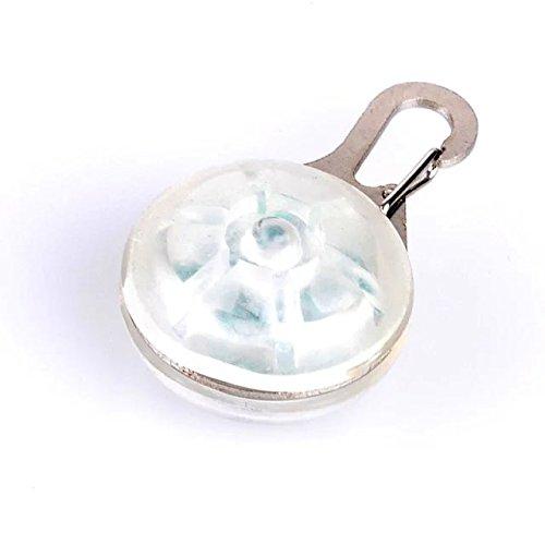 Sicherheitsanhänger/Anhänger für Hundehalsband/Katzenhalsband mit blinkender LED-Leuchte