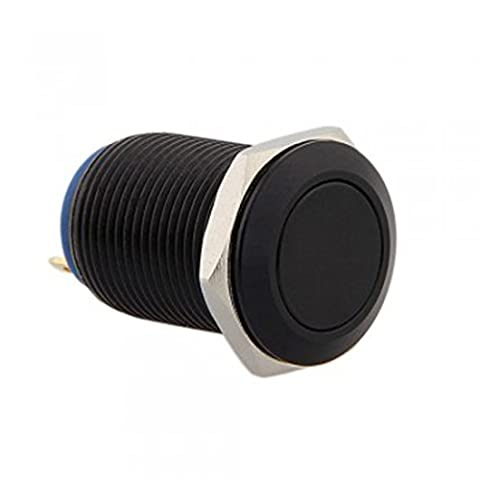 LOVELIFEAST 12Mm 12V Momentary On/Off Push Buttons Switch For Car Mini Auto Durable Boat 2A