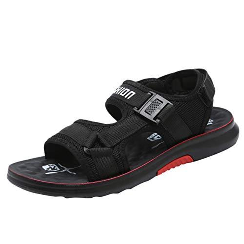 Pingtr - Unisex Herren Damen Sandalen Pantoletten Hausschuhe,Männer Freizeitschuhe Mode Sommer Vintage Sandale Flip Flops Schuhe