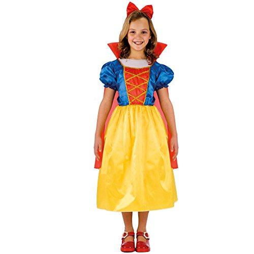Carnival Toys 65682 - Costume Biancaneve, in Busta, Taglia 3
