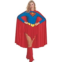 Rubbies - Disfraz de Superwoman para mujer, talla UK 8 - 10 (RB15553L)