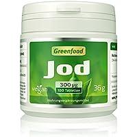 Jod, 300 µg, hochdosiert, 180 Tabletten, vegan – optimale Jodversorgung. Wichtig für die Schilddrüse, den Hormonhaushalt... preisvergleich bei billige-tabletten.eu