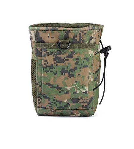 ATAIRSOFT Durable Tactical Airsoft Utility Recycle Bag für die Jagd Wargame Armeemagazin WorldShopping4U (Woodland Digital (AOR2))