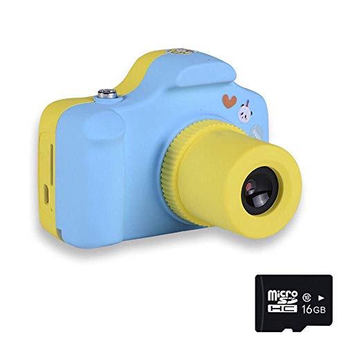 1080P Fotocamere Digitali per Bambini con Scheda SD 16 GB, Mini Macchina Fotografica Bambini Portatile Telecamera per BambiniMiniFotocamera Videocamera Bambini, Regalo di Compleanno Natale