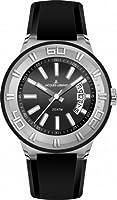 Reloj Jacques Lemans 1-1784A unisex de silicona negro de Jacques Lemans