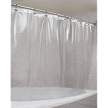 Style Your Home 0.30 MM Pvc AC Transparent Shower Curtain Liner ...